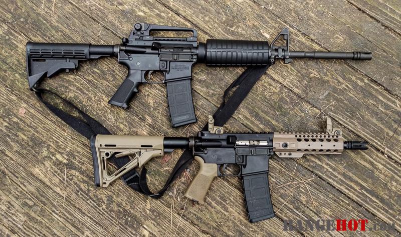 300 blackout upper rifle pistol