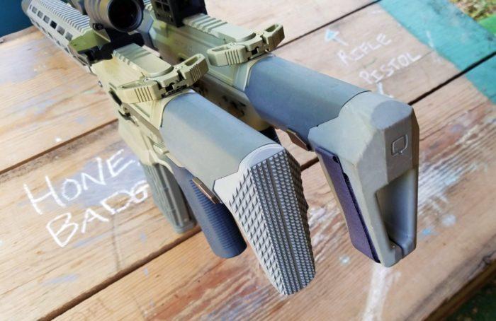 honey badger pistol vs sbr